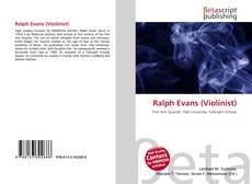 Buchcover von Ralph Evans (Violinist)