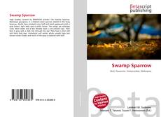 Bookcover of Swamp Sparrow