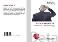 Обложка Victor S. Johnson, Sr.