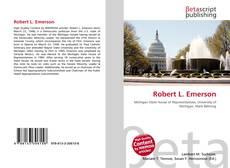 Capa do livro de Robert L. Emerson