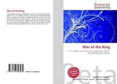 Borítókép a  War of the Ring - hoz