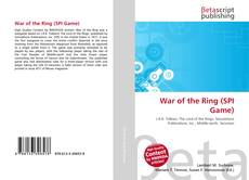Bookcover of War of the Ring (SPI Game)