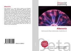 Albeverio kitap kapağı