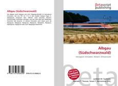Capa do livro de Albgau (Südschwarzwald)