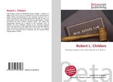 Bookcover of Robert L. Childers