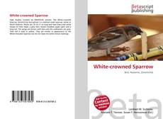 Bookcover of White-crowned Sparrow