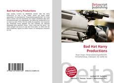 Bad Hat Harry Productions kitap kapağı