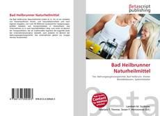 Capa do livro de Bad Heilbrunner Naturheilmittel