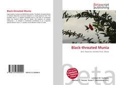 Black-throated Munia kitap kapağı