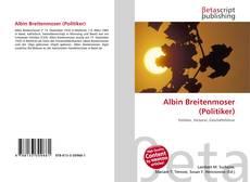 Buchcover von Albin Breitenmoser (Politiker)