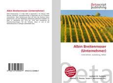 Buchcover von Albin Breitenmoser (Unternehmer)