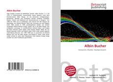 Buchcover von Albin Bucher