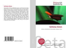 Couverture de Schinia Siren