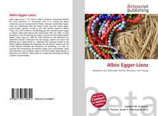 Capa do livro de Albin Egger-Lienz