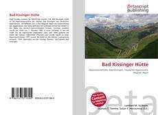 Bad Kissinger Hütte kitap kapağı