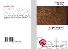 Capa do livro de Ralph Grayson