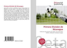Portada del libro de Primera División de Nicaragua