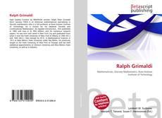 Portada del libro de Ralph Grimaldi