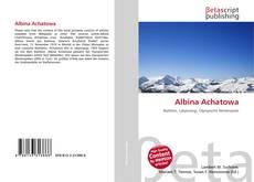 Buchcover von Albina Achatowa