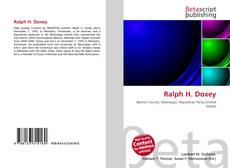 Ralph H. Doxey的封面