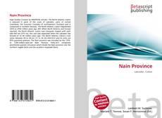 Buchcover von Nain Province