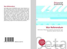 Bookcover of War Referendum