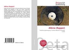 Capa do livro de Albino (Rapper)