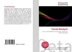 Capa do livro de Tomáš Berdych