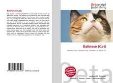 Обложка Balinese (Cat)