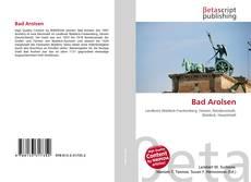 Bookcover of Bad Arolsen