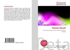 Bookcover of Tomás Hirsch