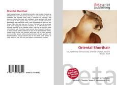 Portada del libro de Oriental Shorthair