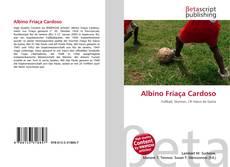 Capa do livro de Albino Friaça Cardoso