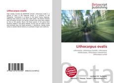 Обложка Lithocarpus ovalis