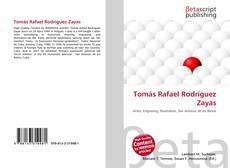 Portada del libro de Tomás Rafael Rodríguez Zayas
