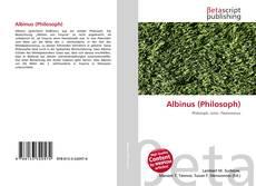 Copertina di Albinus (Philosoph)