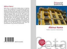 Bookcover of Albinus Nance
