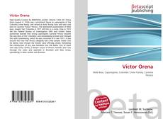 Bookcover of Victor Orena