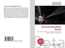 Bookcover of Somerset Maugham Award