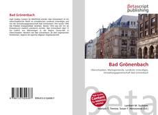 Bad Grönenbach kitap kapağı