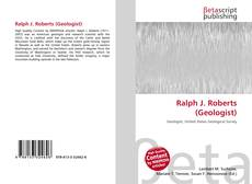 Ralph J. Roberts (Geologist) kitap kapağı