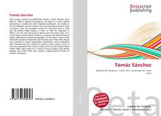 Capa do livro de Tomás Sánchez