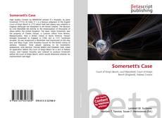 Bookcover of Somersett's Case