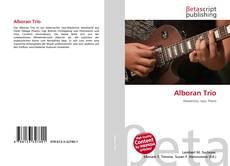 Buchcover von Alboran Trio