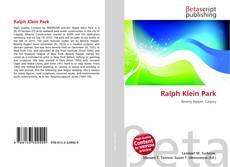 Ralph Klein Park的封面