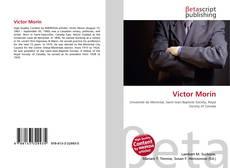 Couverture de Victor Morin