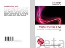 Woolstenhulmes & Rye kitap kapağı