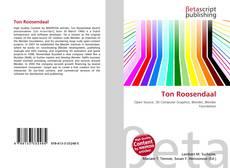 Buchcover von Ton Roosendaal