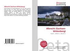 Copertina di Albrecht (Sachsen-Wittenberg)
