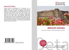Borítókép a  Albrecht Achilles - hoz
